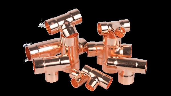 嘉科铜管件与您分享紫铜管件的几种机械连接方式