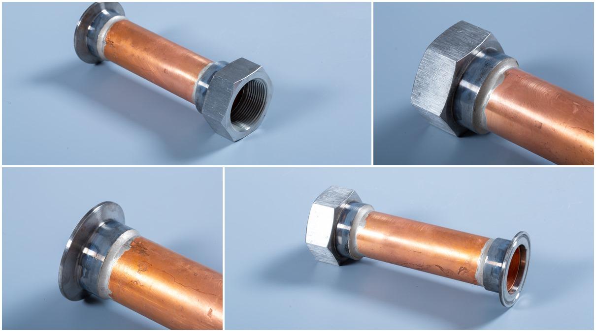 不锈钢接头焊接管产品展示