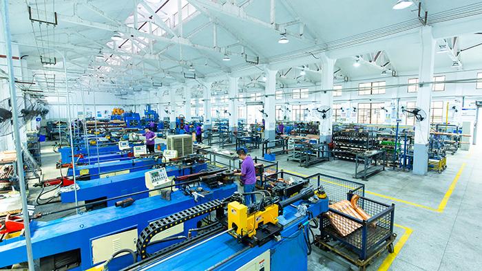 嘉科铜管-生产基地