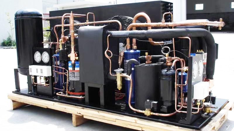嘉科铜管空调设备应用案例