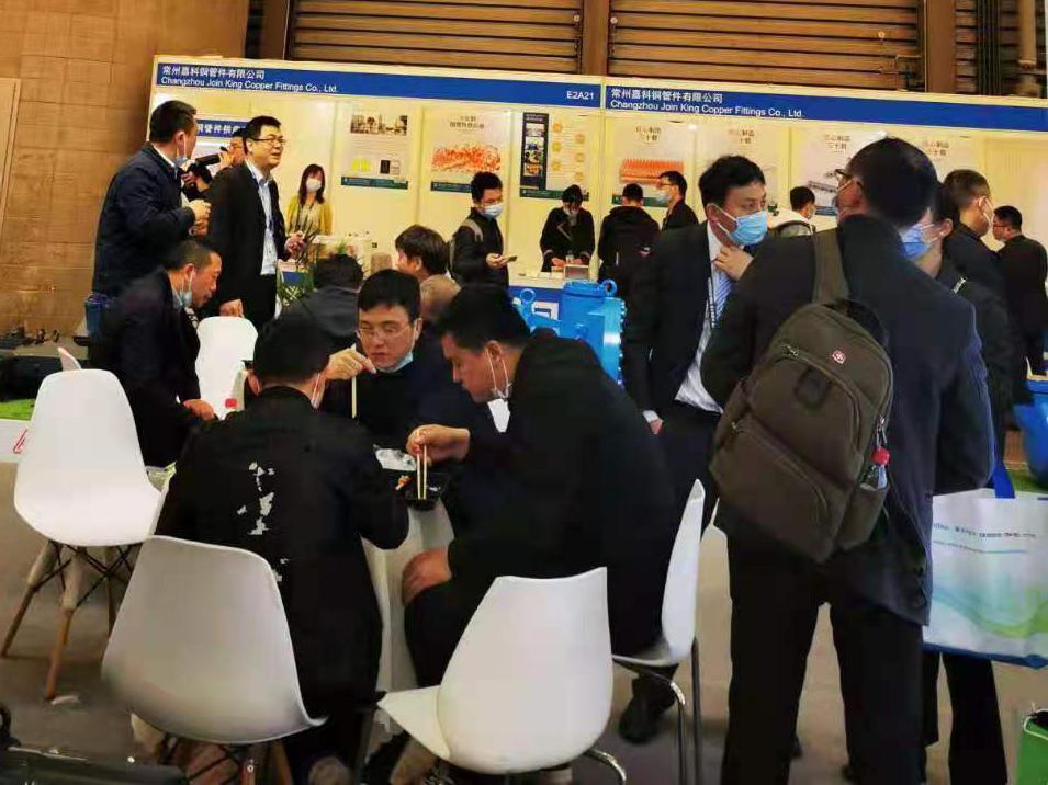 嘉科铜管件携精密铜管件产品亮相2021中国制冷展